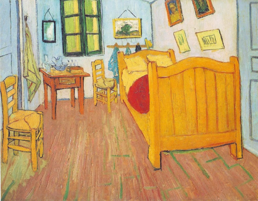Vincent Van Gogh's room in the Asylum - Van Gogh Art