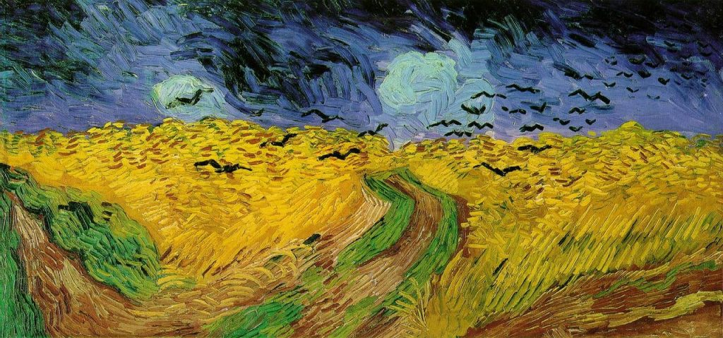 Wheatfields With Crows by Van Gogh