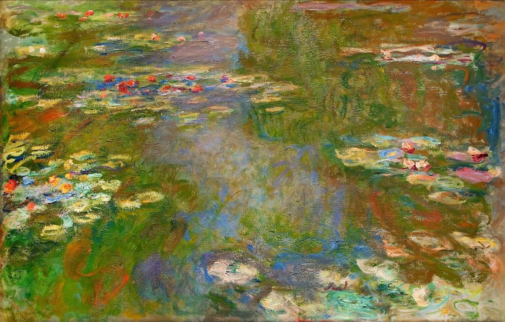 Claude Monet Water Lilies {Public Domain}