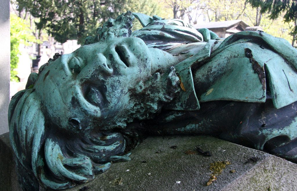 Montmartre cemetery - one of the places to visit in the Paris Three Day Itinerary Impressionism Trail