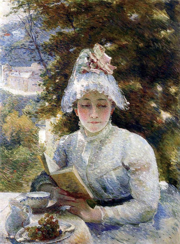 Marie Braquemond painting entitled: Afternoon_Tea