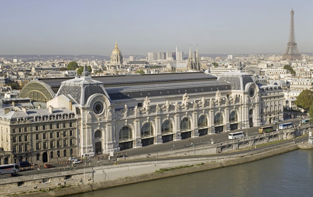 The Musee D'Orsay, Paris -the largest impressionism museum in the world