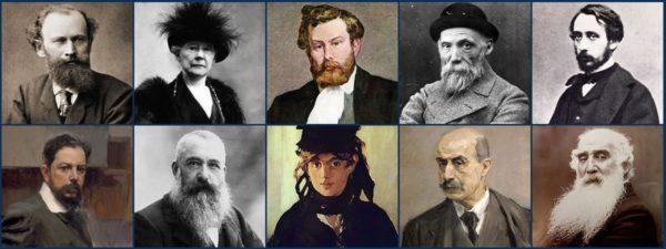 Famous impressionists