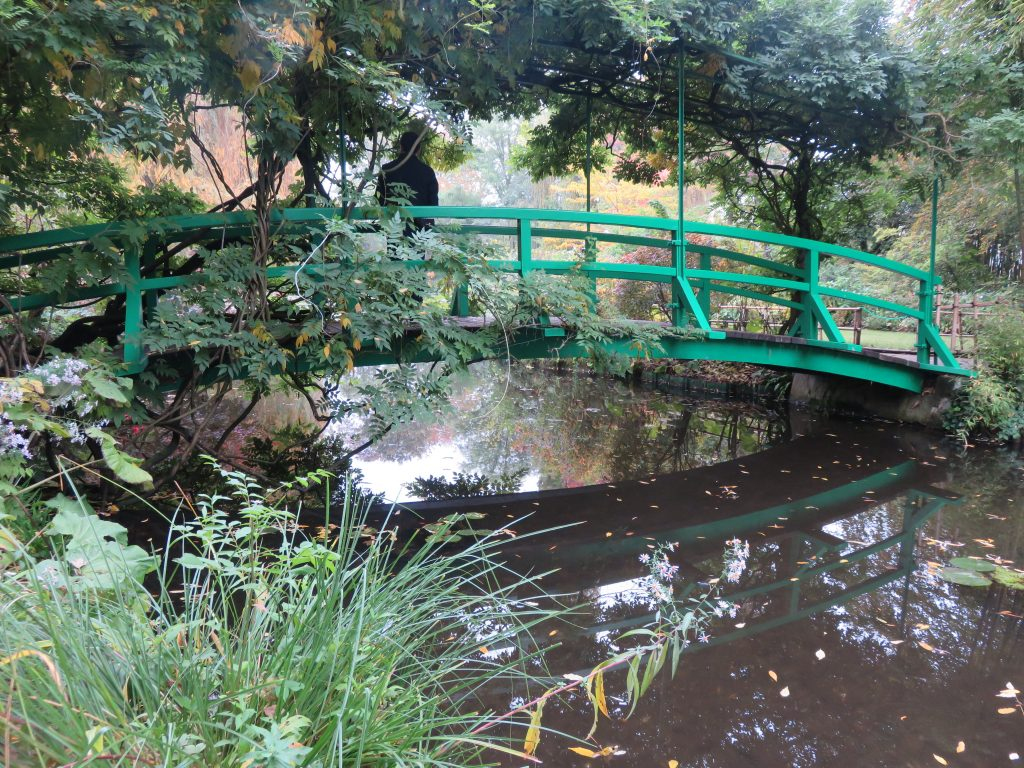 Monet's garden. The Japanese bridge