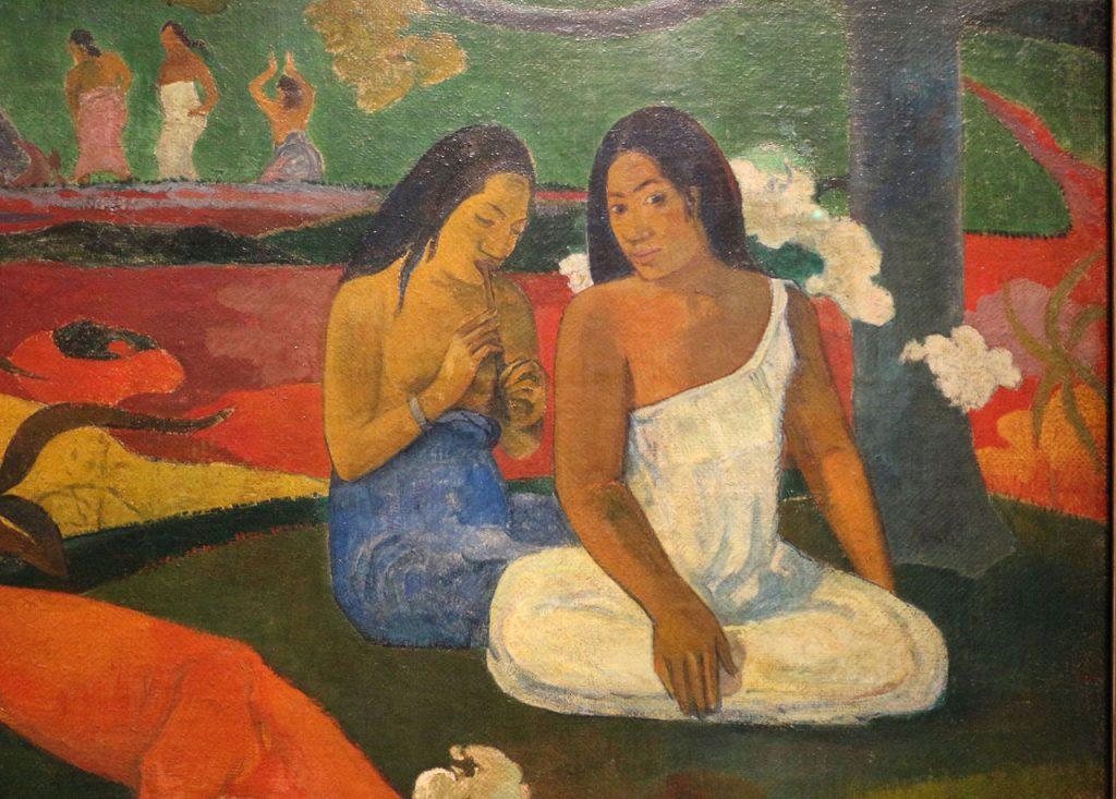 Paul Gauguin paintings - Joyfulnes