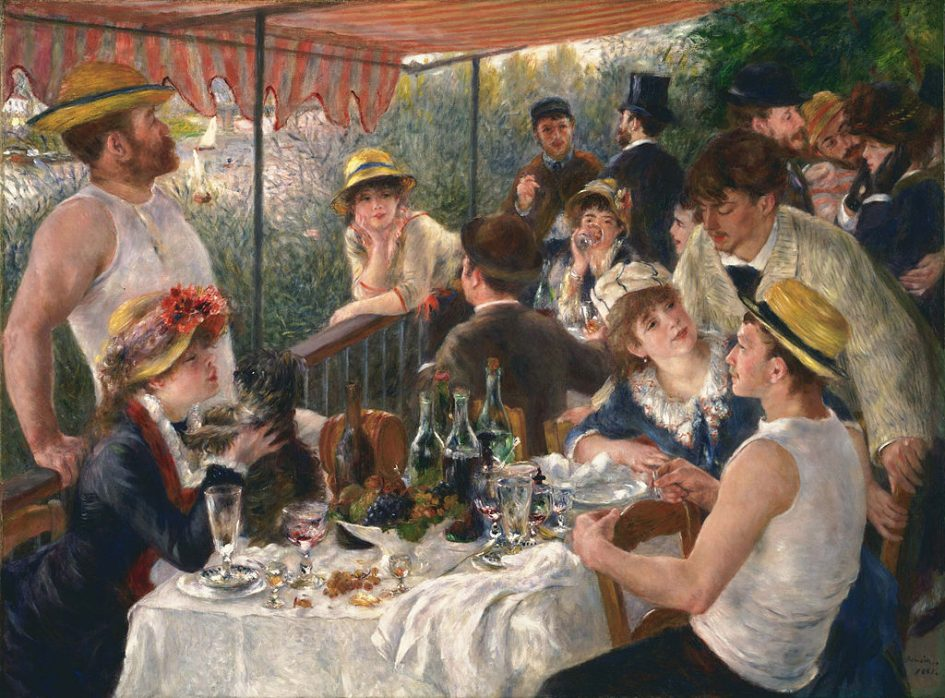 Auguste Renoir painting