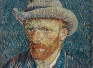 Vincent van Gogh Self Portrait -Neoimpressionism
