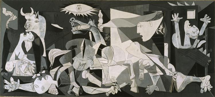 Guernica - One of the most famous Picasso paintings