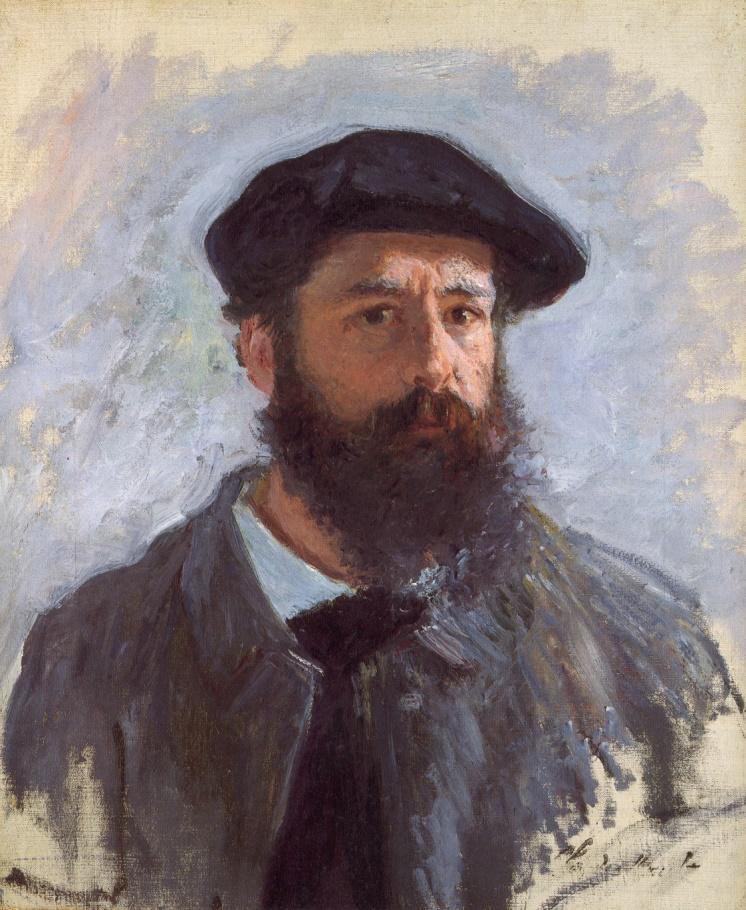 Impressionist art-Monet Self Portrait
