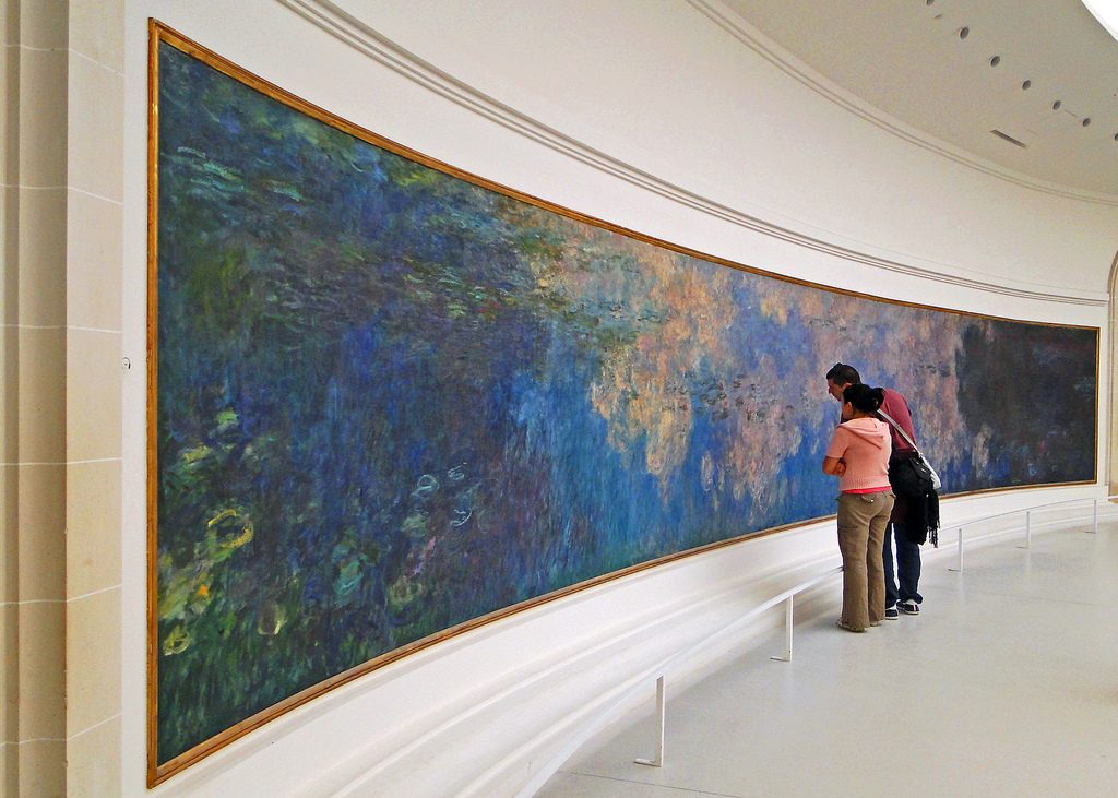 Claude Monet's most famous paintings - Water Lilies (Nympheas) photo by fmpgoh on Flickr (CC BY-NC-ND 2.0)