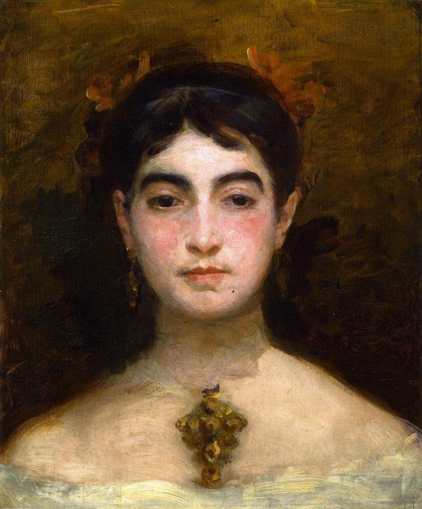 Marie Braquemond Self portrait