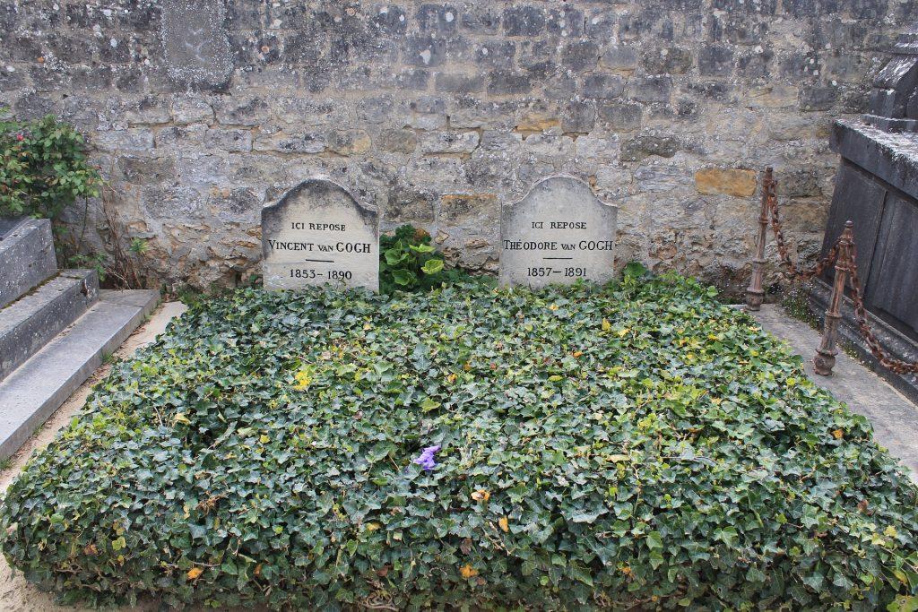 famous tombstones - Vincent Van Gogh's grave