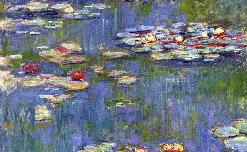 The artworks of the French Impressionists