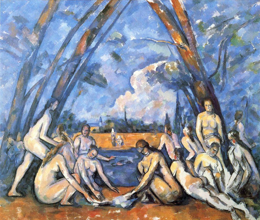 Paul Cezanne - The Bathers