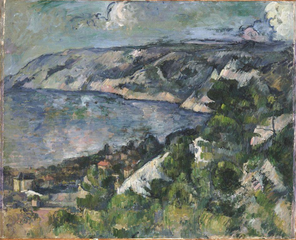 Cezanne painting