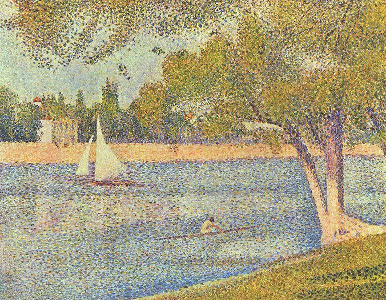 Georges Seurat pointillism painting