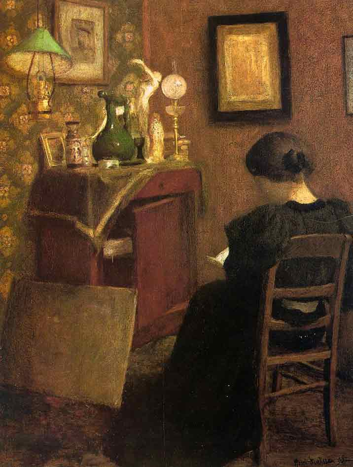 Henri Matisse paintings in traditional style entitled: Woman Reading