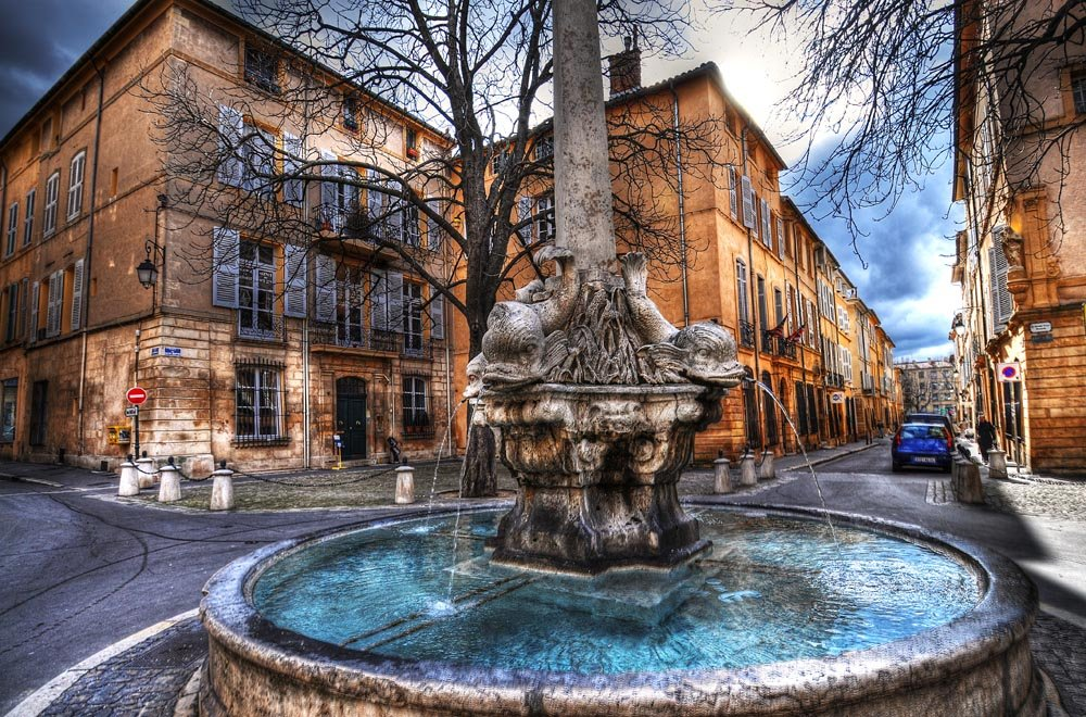Aix en Provence - The home of Cezanne- Artist