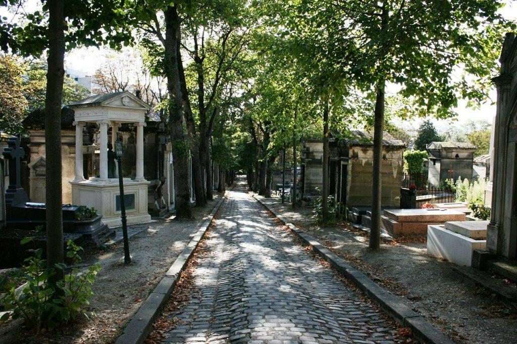 Pere Lachaise Paris Cemetery