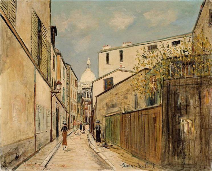 Maurice Utrillo artworks of Paris