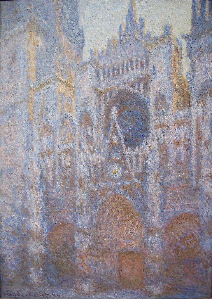 Rouen Cathedral painting by Claude Monet Impressionist
