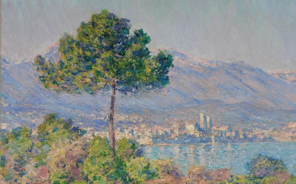 Antibes Series - Claude Monet famous impressionism artworks of Antibes