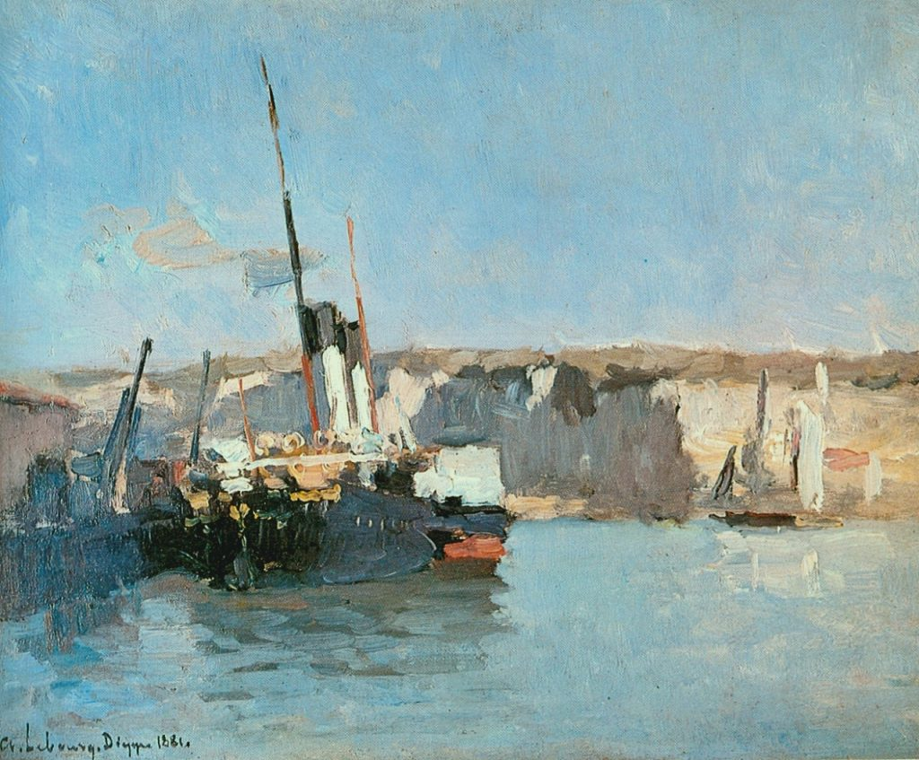 Albert Lebourg Impressionism landscape paintings of Dieppe