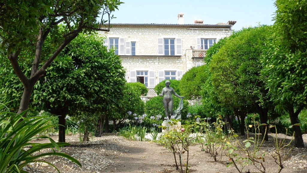 Renoir museum in Cagnes-sur-Mer