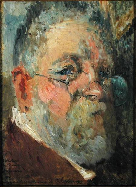 Self Portrait by Albert Lebourg