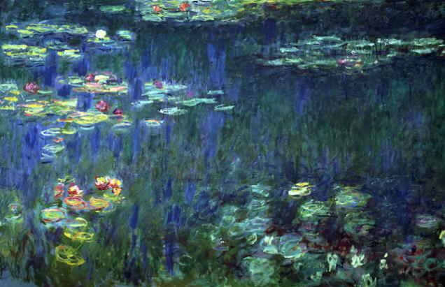 Water Llilies Claude Monet - Japonisme