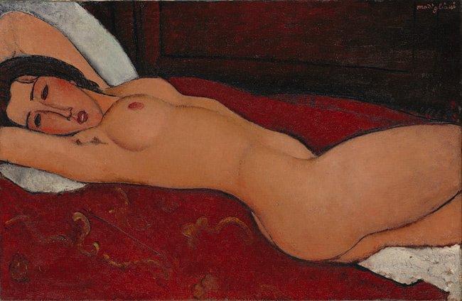 Amedeo Modigliani nude painting