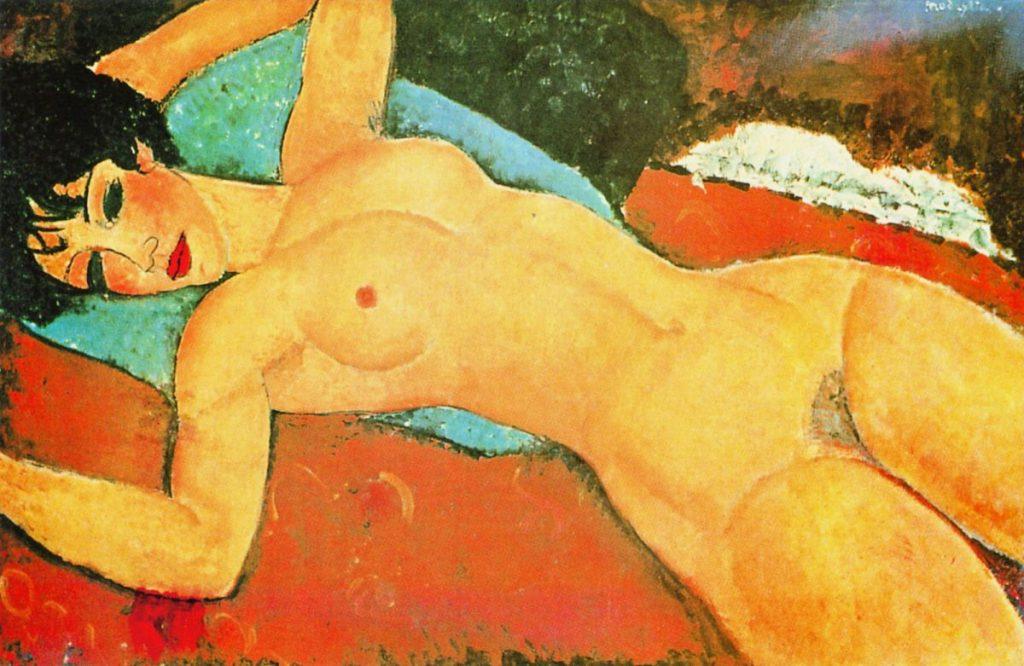Amedeo Modigliani nude artworks