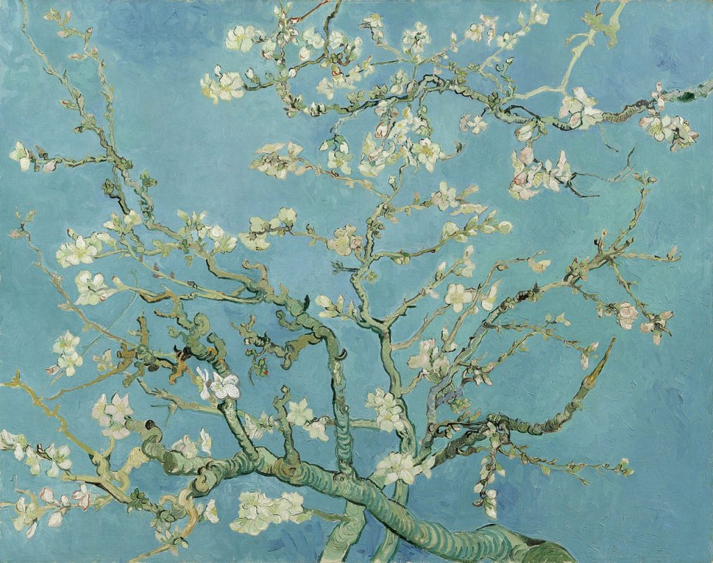 Almond Blossoms- Van Gogh painting
