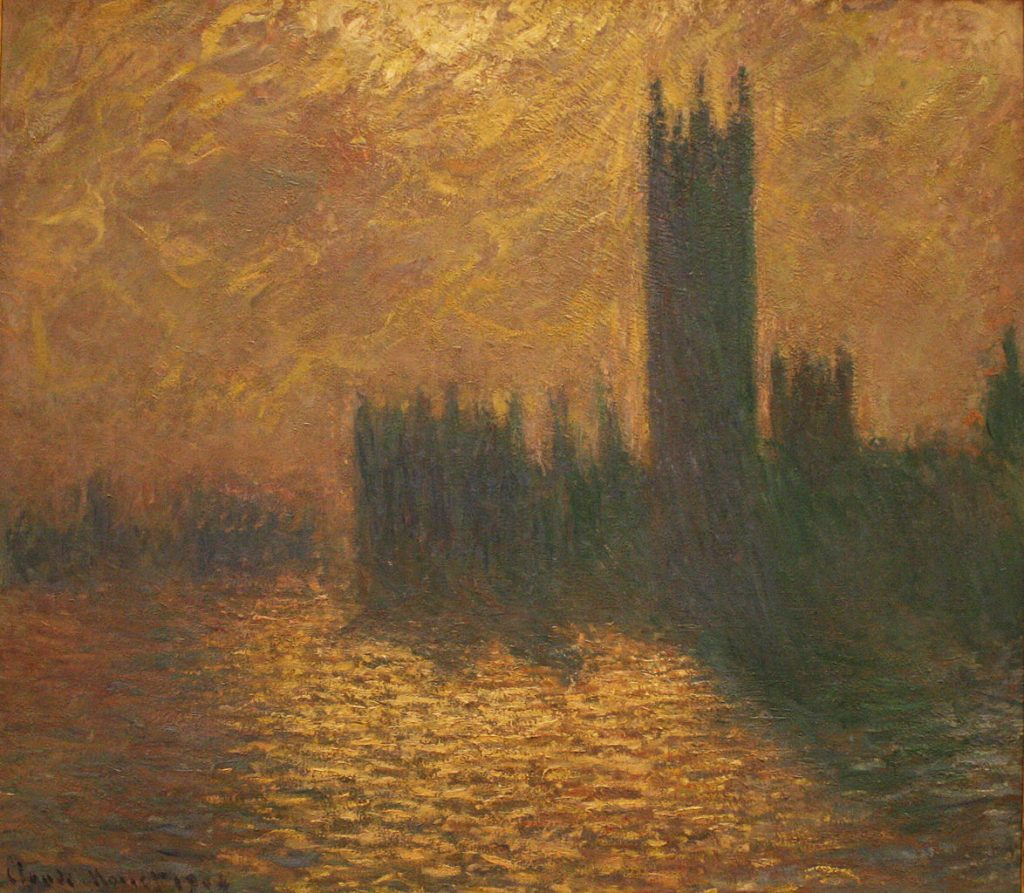Houses of Parliament Series / Claude Monet Paintings