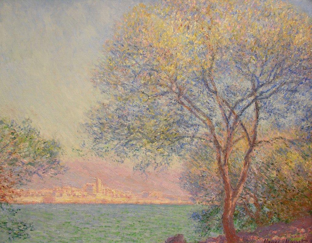 Antibes, French Riviera - Claude Monet Painting