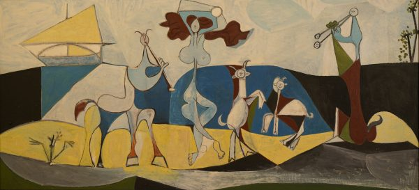 Pablo picasso paintings - cubism / surrealism style