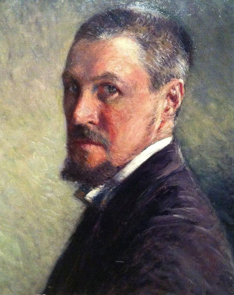 Caillebotte Self Portrait Painting