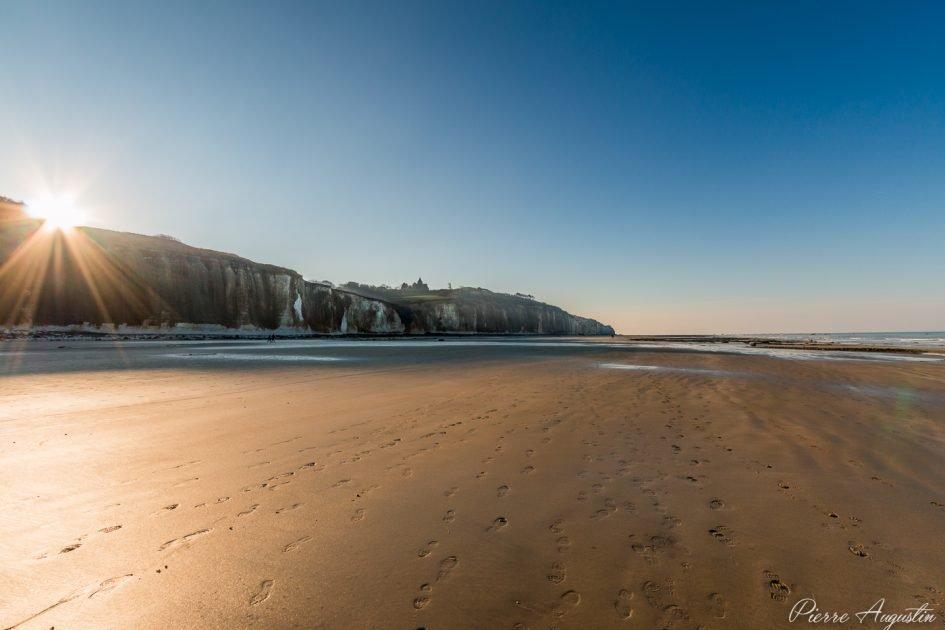Varengeville-sur-Mer Beach / Photo by Pierre Augustin