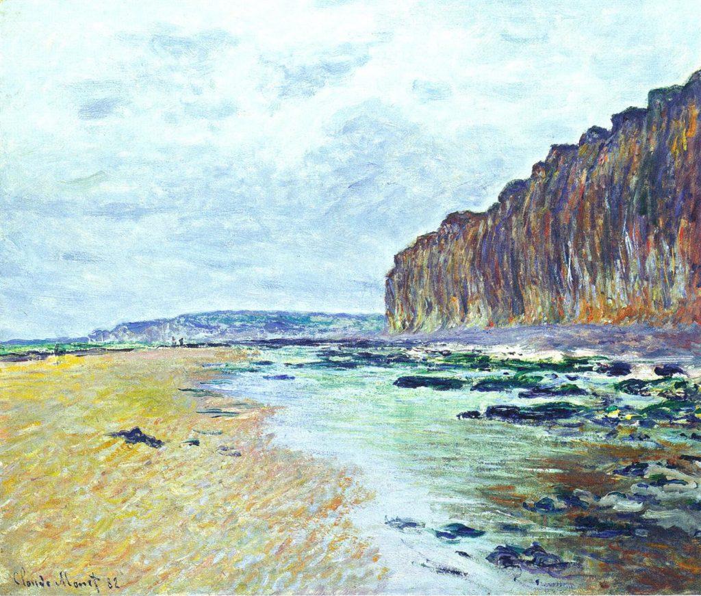 Monet Landscape of Varengeville-sur-Mer in the Normandy region