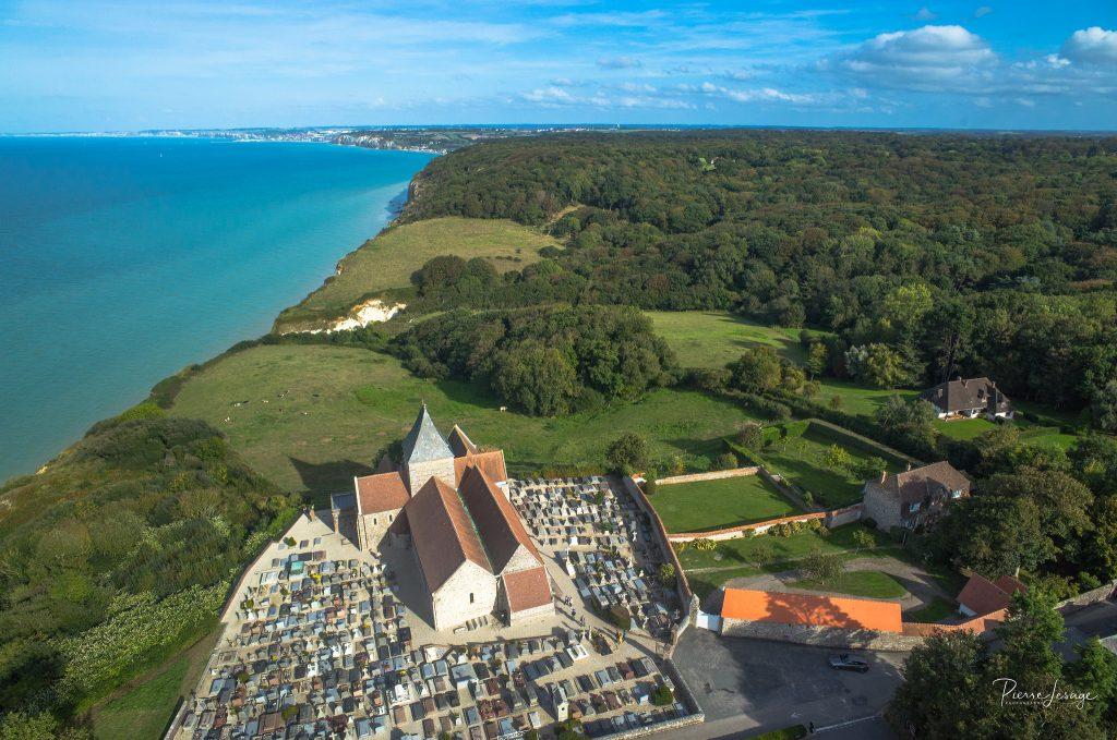 Eglise St Valéry church - Varengeville, Normandie France