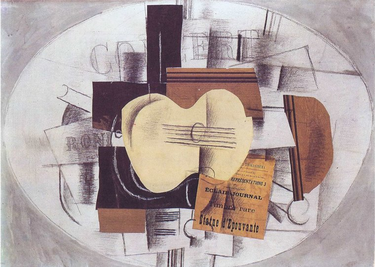 Georges Braque Cubism painting