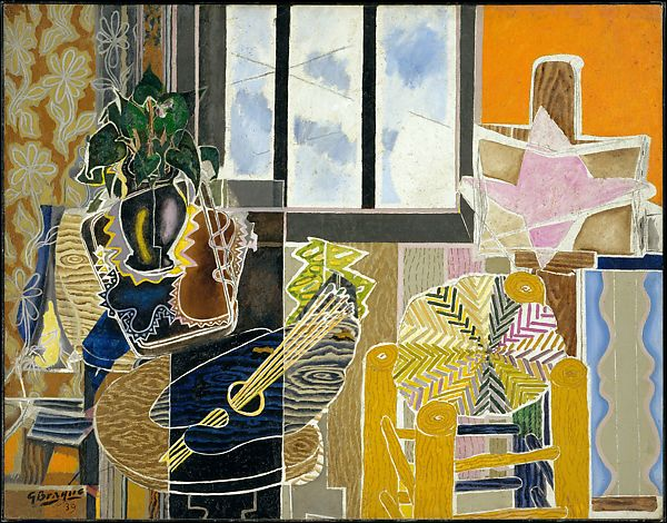 Georges Braque Paintings - Cubism style
