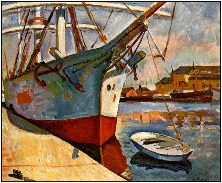 Georges Braque Paintings- Le Havre Port - Fauvism Style