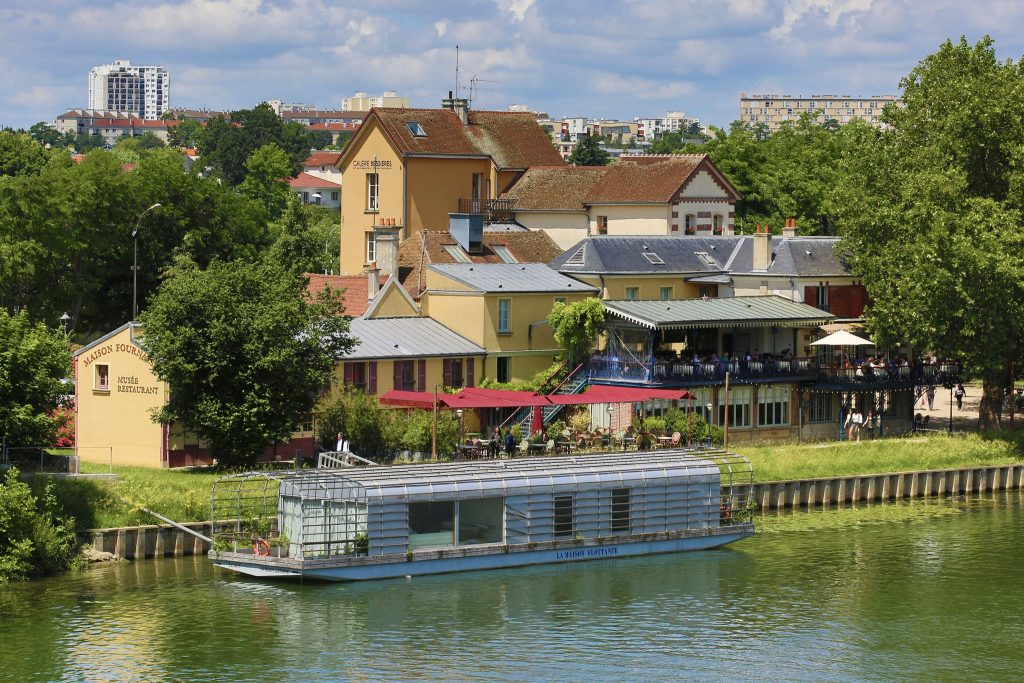 Chatou Island one of the sites in the Paris Three Day Itinerary called the Impressionism Trail
