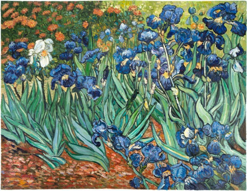Van Gogh Irises - most famous Van Gogh Painting