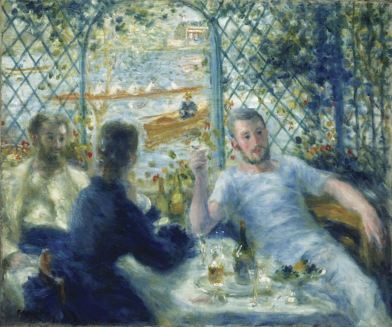 Auguste Renoir Painting - Lunch at the Fournaise Restaurant