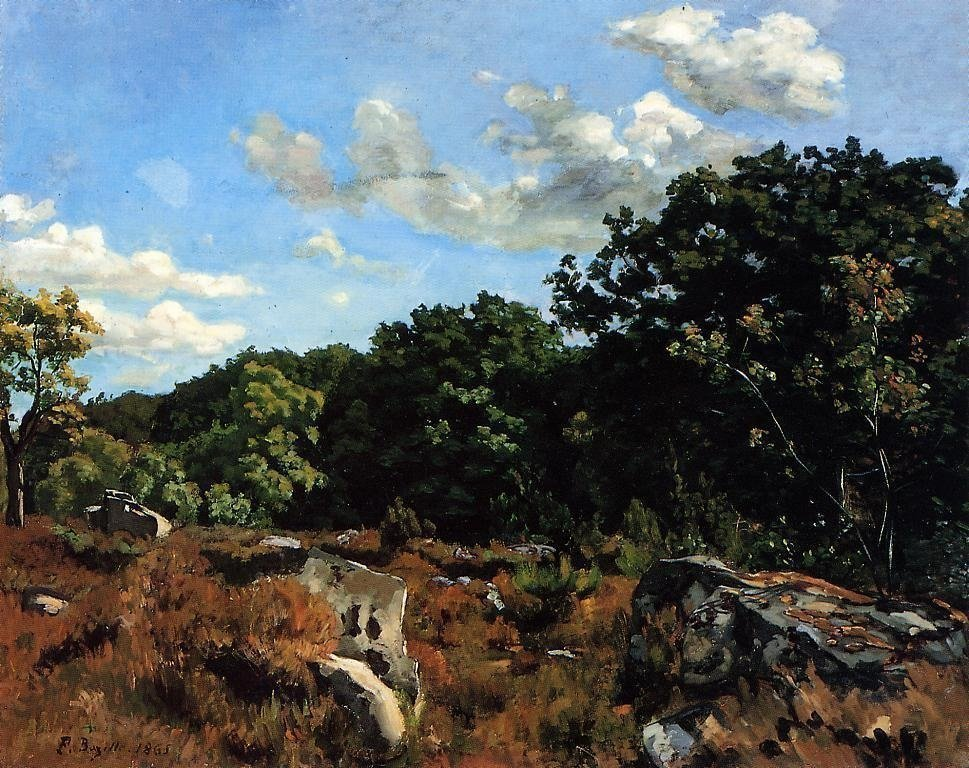 One of the Barbizon School Painters - Frederic Bazille