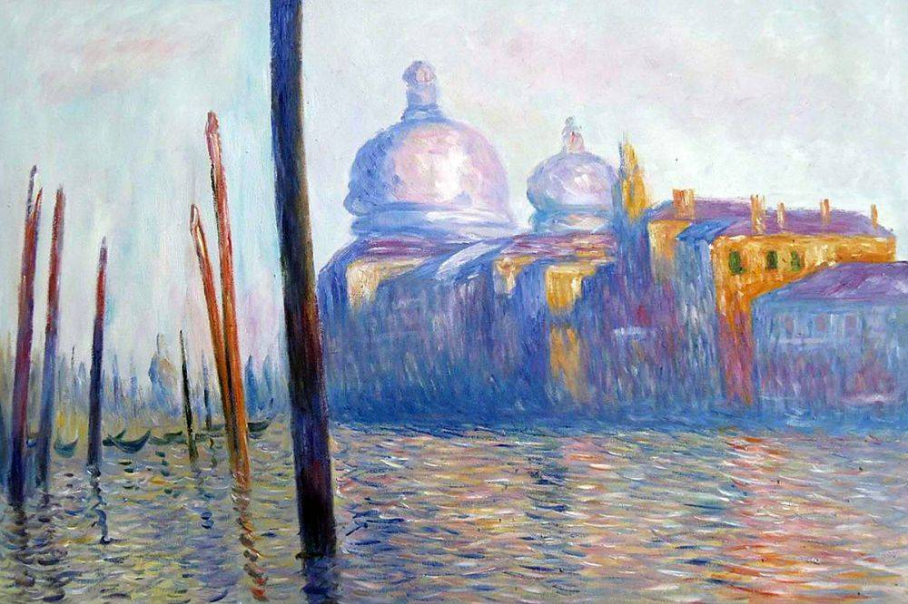 Monet Venice Paintings - The Grand Canal