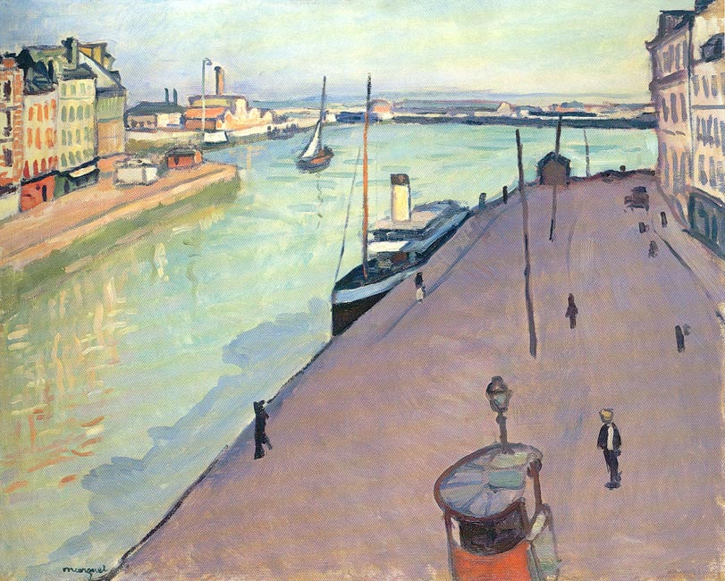 Marquet Painting - Le Havre