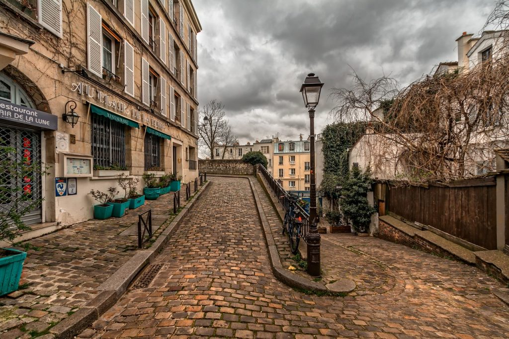Montmartre- one of the neighborhoods to visit in the Paris Three Day Itinerary Impressionism Trail